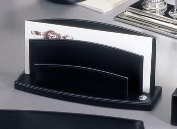 El Casco M714 Tijdgeest Kalfsleder luxe brievenhouder Zwart