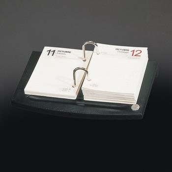 El Casco M715 Tijdgeest Kalfsleder luxe omlegkalender Zwart