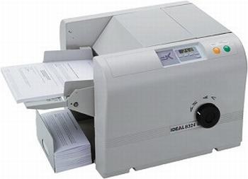 Ideal vouwmachine 8324  max. A4 formaat