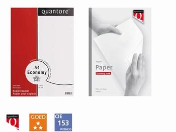 Kopieerpapier Quantore Economy A4 80GR wit 500 vel