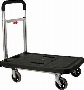 Tranportwagen lichtgewicht en inklapbaar tot 150 kg.