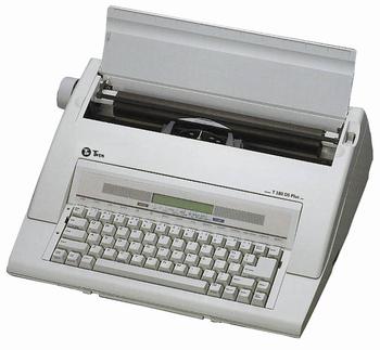 Electronische schrijfmachine Twen 180 DS Plus (DE) Duits