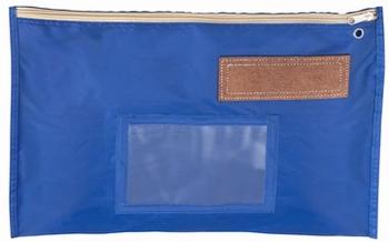 Banktas nylon blauw