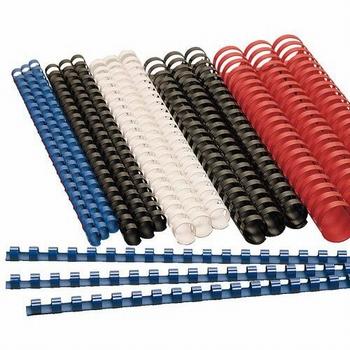 Bindrug plastic 14 mm 21-rings A4  100stuks
