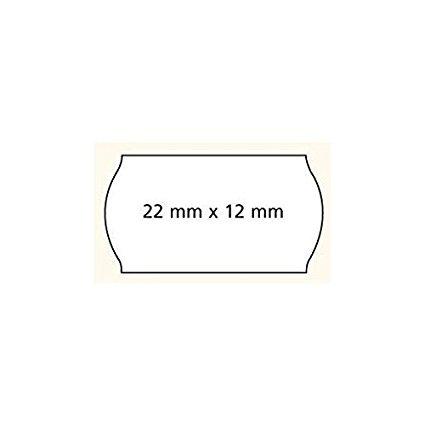 Agipa Prijstang etiketten 22 x 12 mm wit afneembaar o.a METO