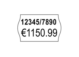 Avery Zweckform Prijstang Etiketten 26x16 mm Geel permanent