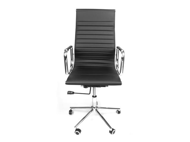 Bureaustoel Kangaro zwart Modern