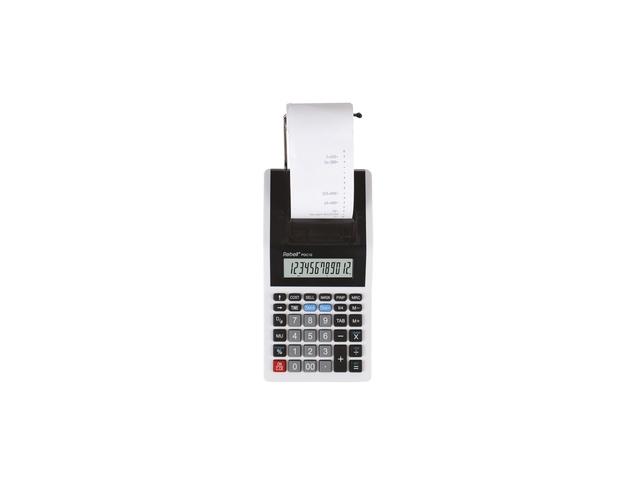 Calculator Rebell PDC10 WB wit-zwart print