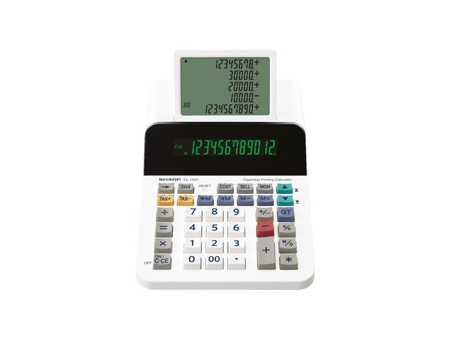 Calculator Sharp EL1501 wit desk 12 digit