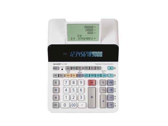 Calculator Sharp EL1901 wit desk 12 digit