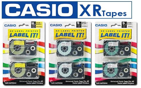 Casio Labelprinter Tape XR-12 - 12mm - 8m