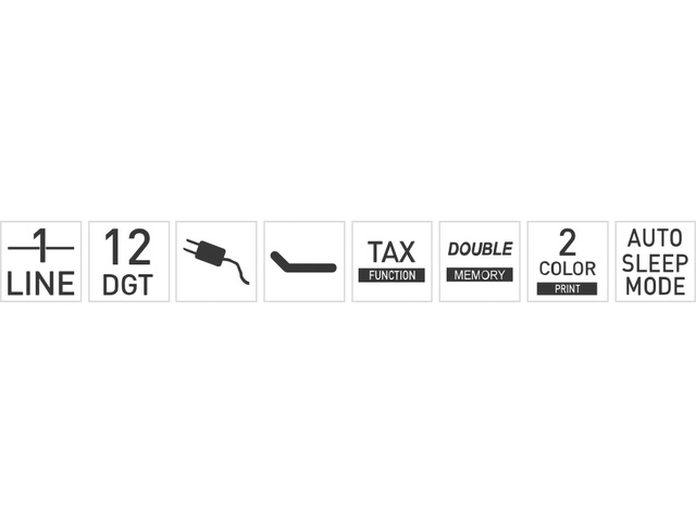 Citizen CX123N Printer rekenmachine