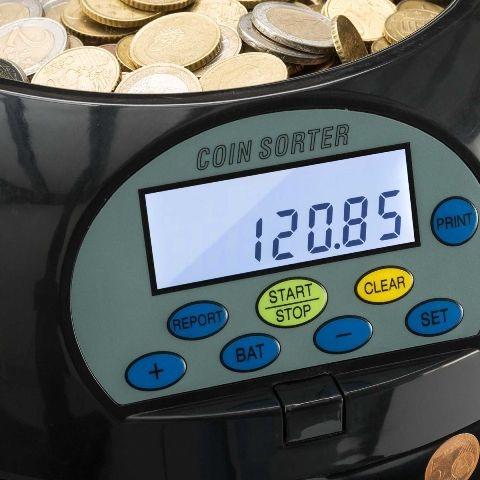 CS-909 Munttelmachine CashMeister