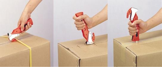 Dozenopnener voor kartonnen dozen Rood NT Cutter R1200P