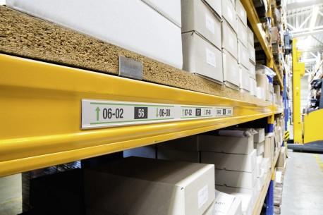DURABLE SCANFIX scannerrails transparant 1000 x 40 mm