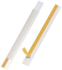DURABLE SCANFIX scannerrails transparant 200 x 40 mm
