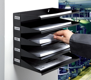 Durable sorteerrek Business metaal 5-vaks grijs