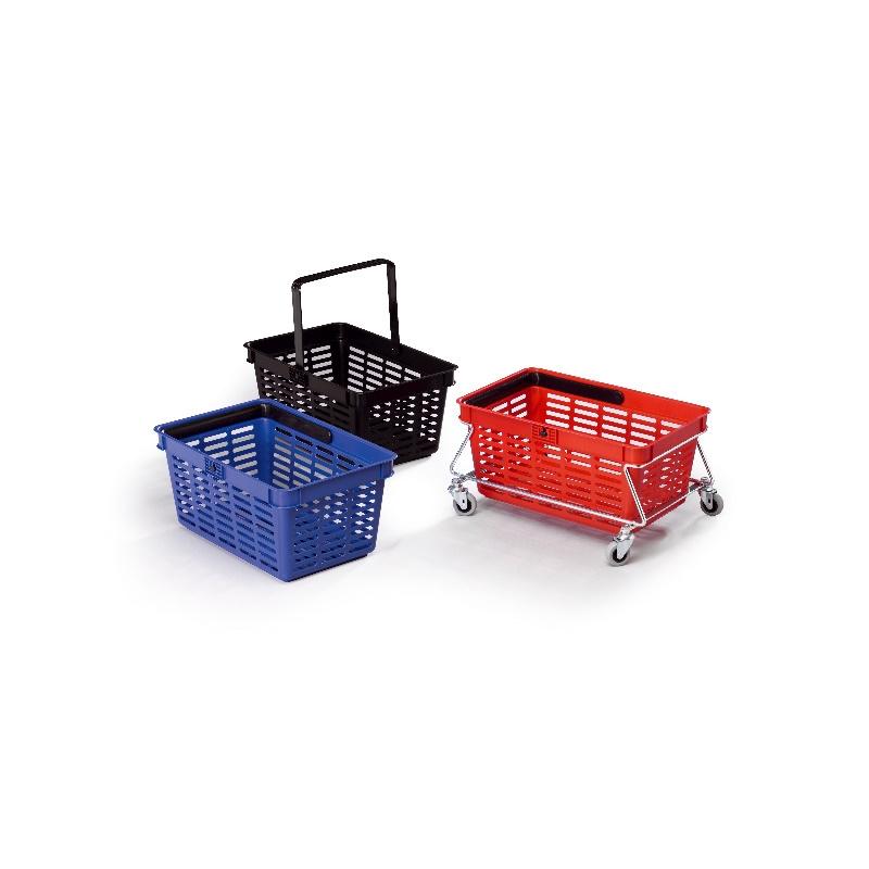 Durable Trolley Winkelmanden 27 Liter Metaal