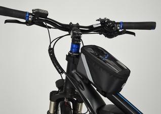 Fischer Fietstas voor op de fietsstang zwart
