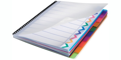 GBC Poly Tabblad Dividers A4 10-delig
