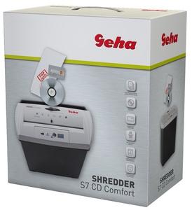 Geha Papiervernietiger Shredder S7 CD Comfort Stroken 7 mm