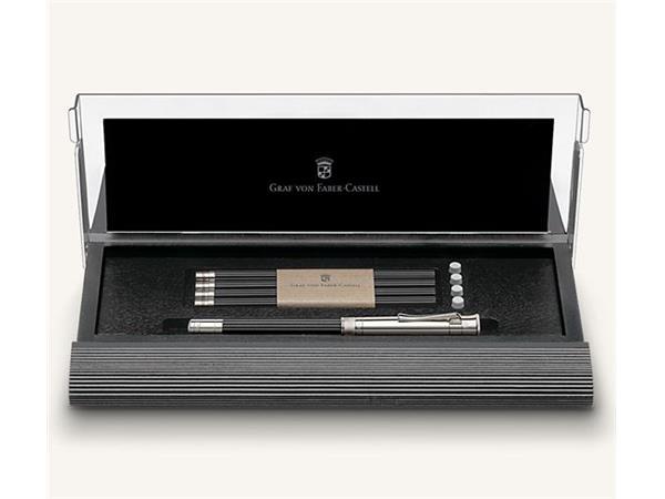 Graf von Faber Castell Deskset Nr.1 Black/Chrome Plated