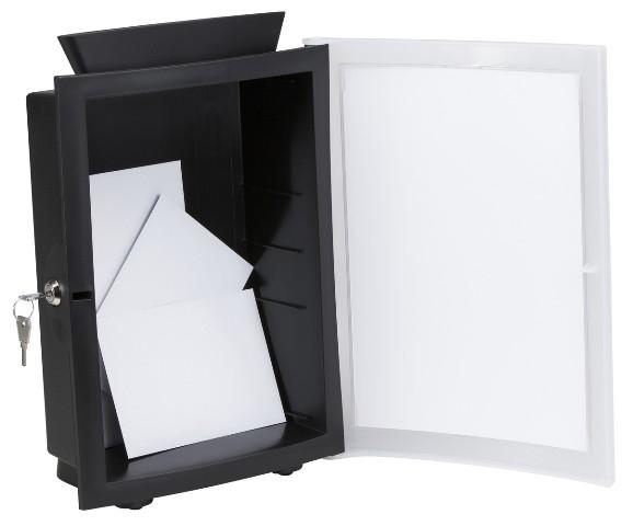 HAN Brievenbus - Mailbox IMAGE'IN Oranje / Transparant