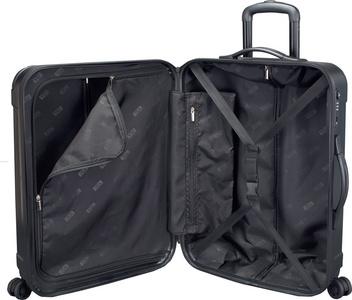 JSA Reistrolley Black-Line Medium zwart-matt