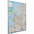 Wand- / Landkaart Softline profiel 8mm Nederland