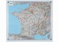 Nobo Magnetische wandkaart Frankrijk