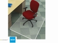 Stoelmat Q-Connect PVC 90x120cm voor tapijt