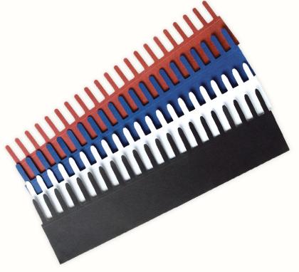Papercombs Small voor maximaal 30 vellen 80 grams ( 100 )