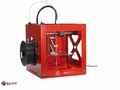 3D printer Builder dual inclusief display Rood