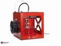 3D printer Builder dual inclusief display Rood