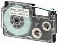 Casio Labelprinter Tape XR-6 - 6mm - 8m