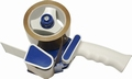 Handkartonsluiter met rem Blauw voor rollen 50mmx66m