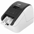 Brother QL-800 Labelprinter zwart/rood print