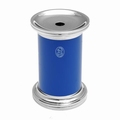 EL Casco M435 BL luxe potloodslijper Blauw / Chroom