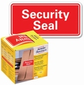 Avery 7310 verzegelingsetiket Security Seal 78 x 38 mm Rood