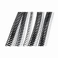 GBC / Ibico Metalen Coilbind ring 8 mm (5:1) 100 stuks zwart