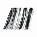 GBC / Ibico Metalen Coilbind ring 12mm (5:1) 100 stuks zwart