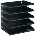 Durable sorteerrek Business metaal 5-vaks zwart
