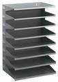 Durable sorteerrek Business metaal 8-vaks grijs