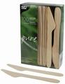PAPSTAR  Pure houten mes  lengte 165 mm