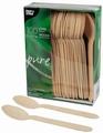PAPSTAR  Pure houten lepel  lengte 157 mm