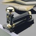 EL Casco M10 LN  luxe nietmachine groot Zwart / 23 krt Gold