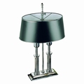 EL Casco M665 CT luxe bureaulamp Chroom