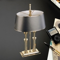 EL Casco M665 L luxe bureaulamp Gold plated