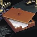El Casco M687 Classic Kalfsleder luxe brievenbak met deksel