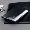 El Casco M713 Tijdgeest Kalfsleder luxe telefoonindex Zwart